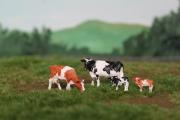 H0 Holsteiner Schwarz und rot, 4 Stück